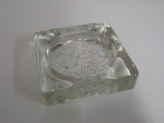 Lote: 13 - Lote: 13 - Cenicero de vidrio