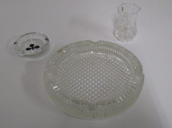 Lote: 14 - Lote: 14 - Lote de 3 piezas de vidrio