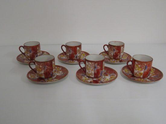 Lote: 106 - Lote: 106 - 6 tazas de café