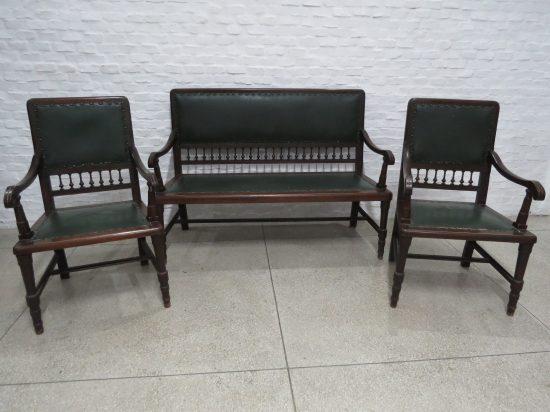 Lote: 94 - Lote: 94 - Juego de sillones de sala