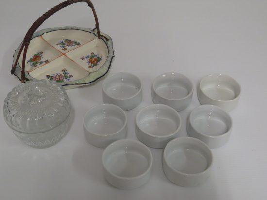 Lote: 112 - Lote: 112 - Lote de loza y vidrio