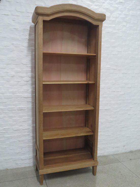Lote: 74 - Lote: 74 - Mueble biblioteca en roble