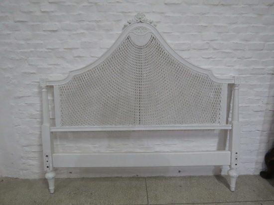 Lote: 23 - Lote: 23 - Respaldo de cama de 2 plazas Luis XVI