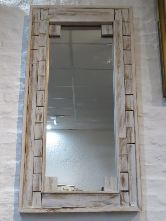 Lote: 38 - Lote: 38 - Espejo marco madera