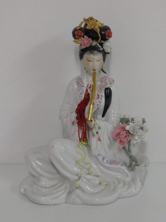 Lote: 4 - Lote: 4 - Figura dama china