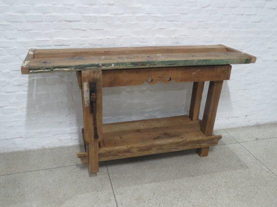Lote: 37 - Lote: 37 - Banco de carpintero artesanal