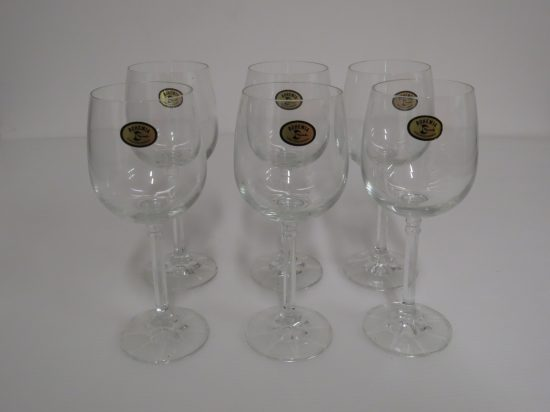 Lote: 85 - Lote: 85 - 6 copas de cristal
