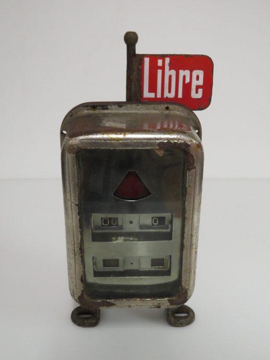 Lote: 53 - Lote: 53 - Reloj antiguo de taxímetro