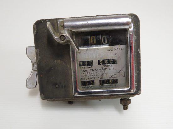Lote: 52 - Lote: 52 - Reloj antiguo de taxímetro