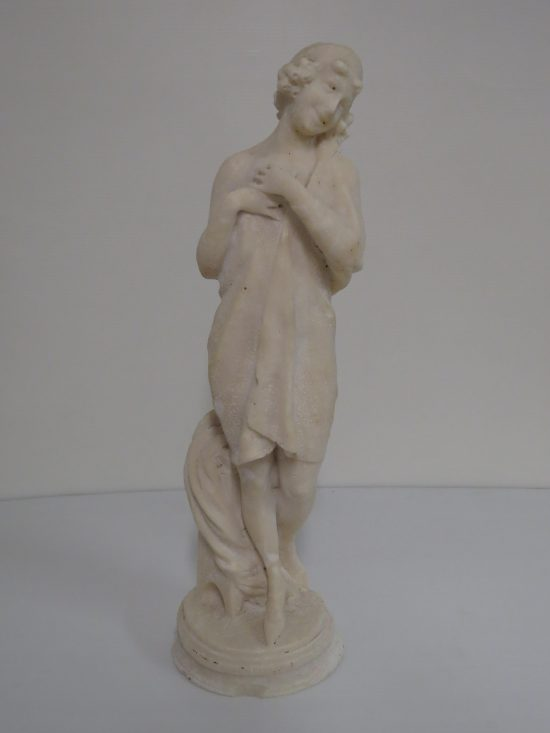 Lote: 108 - Lote: 108 - Estatua en sal