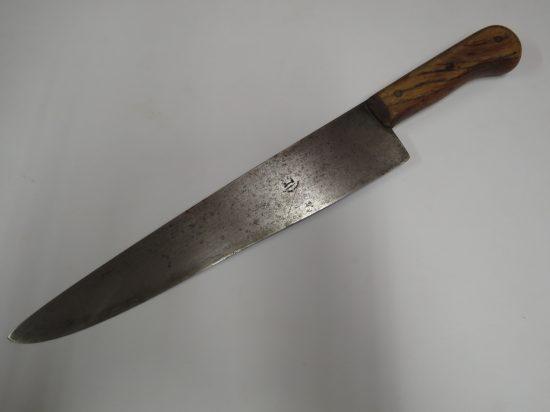 Lote: 58 - Lote: 58 - Cuchilla cabo de madera