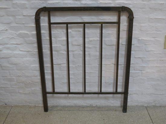 Lote: 32 - Lote: 32 - Respaldo cama de bronce