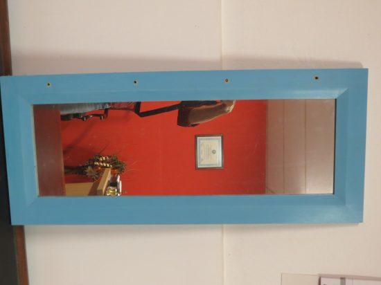 Lote: 102 - Lote: 102 - Espejo marco madera