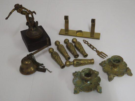 Lote: 5 - Lote: 5 - Lote de 11 piezas de bronce
