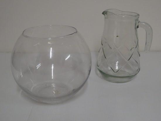 Lote: 123 - Lote: 123 - 2 piezas de vidrio