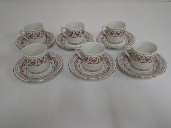 Lote: 9 - Lote: 9 - 6 tazas de café