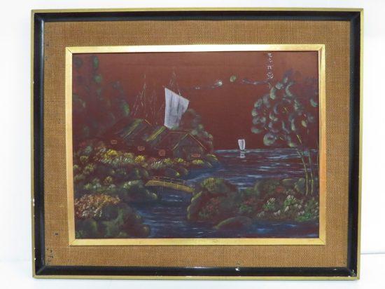 Lote: 18 - Lote: 18 - Pintura oriental