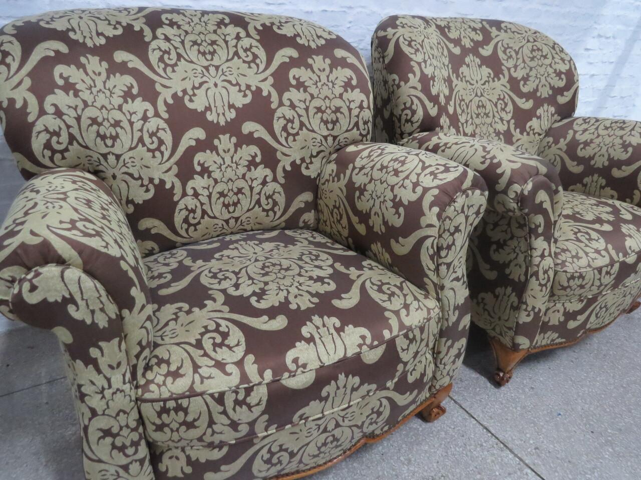 Lote: 57 - Lote: 57 - Par de sillones Luis XV