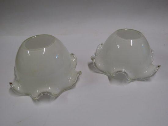Lote: 4 - Lote: 4 - 2 pantallas de vidrio tipo opalinas