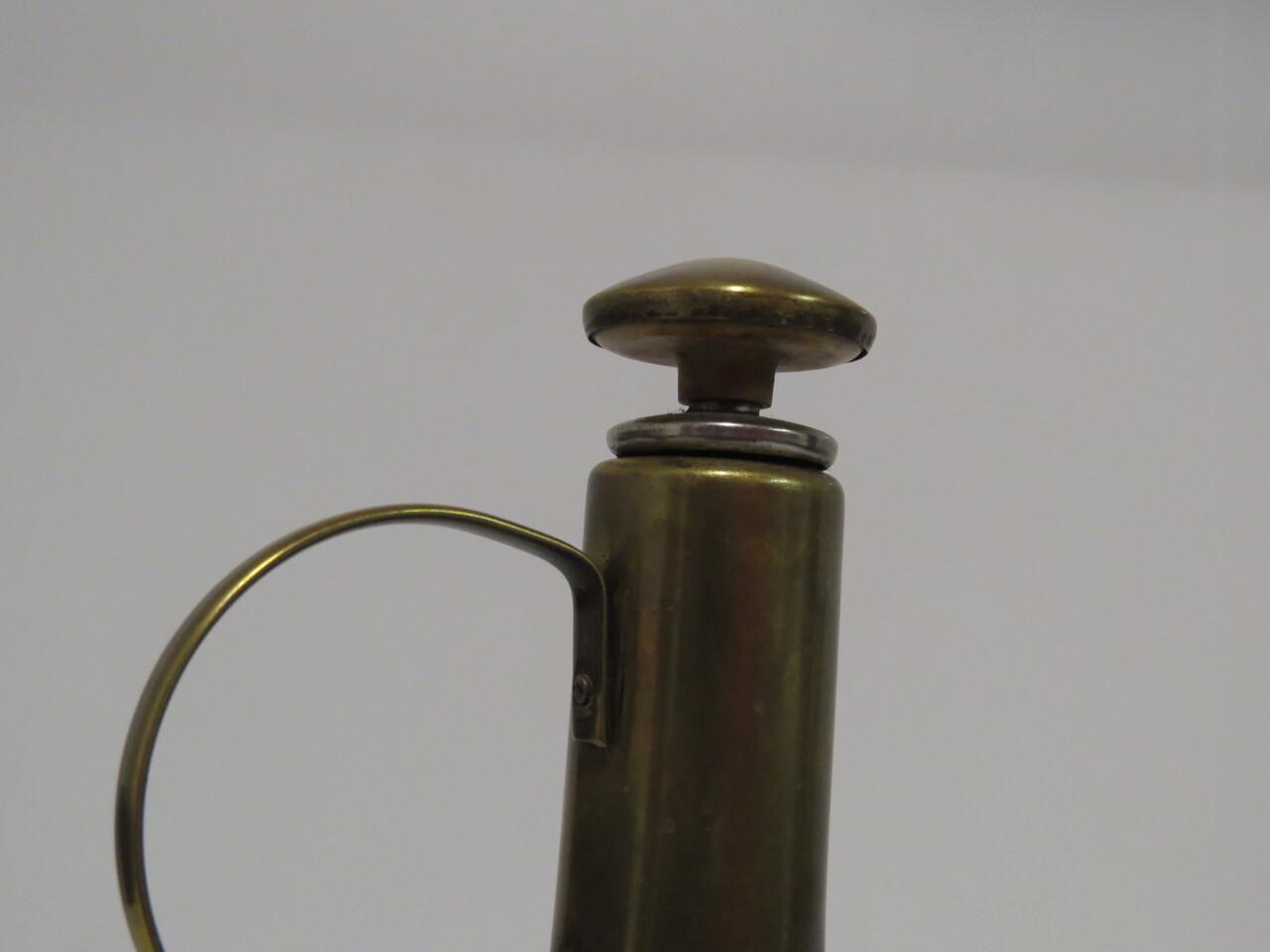 Lote: 5 - Lote: 5 - Jarron de vidrio con bronce