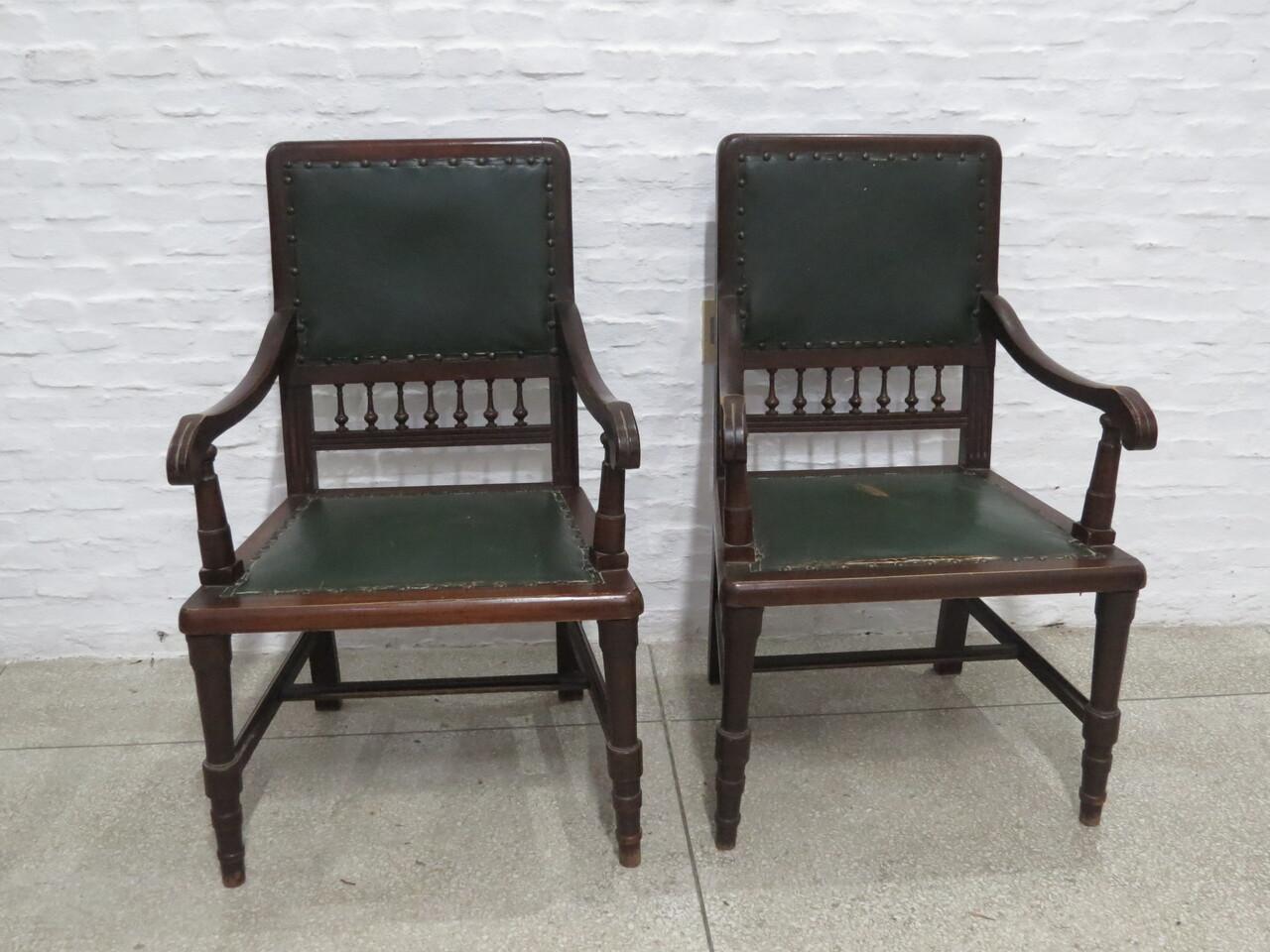 Lote: 63 - Lote: 63 - Juego de sillones de sala
