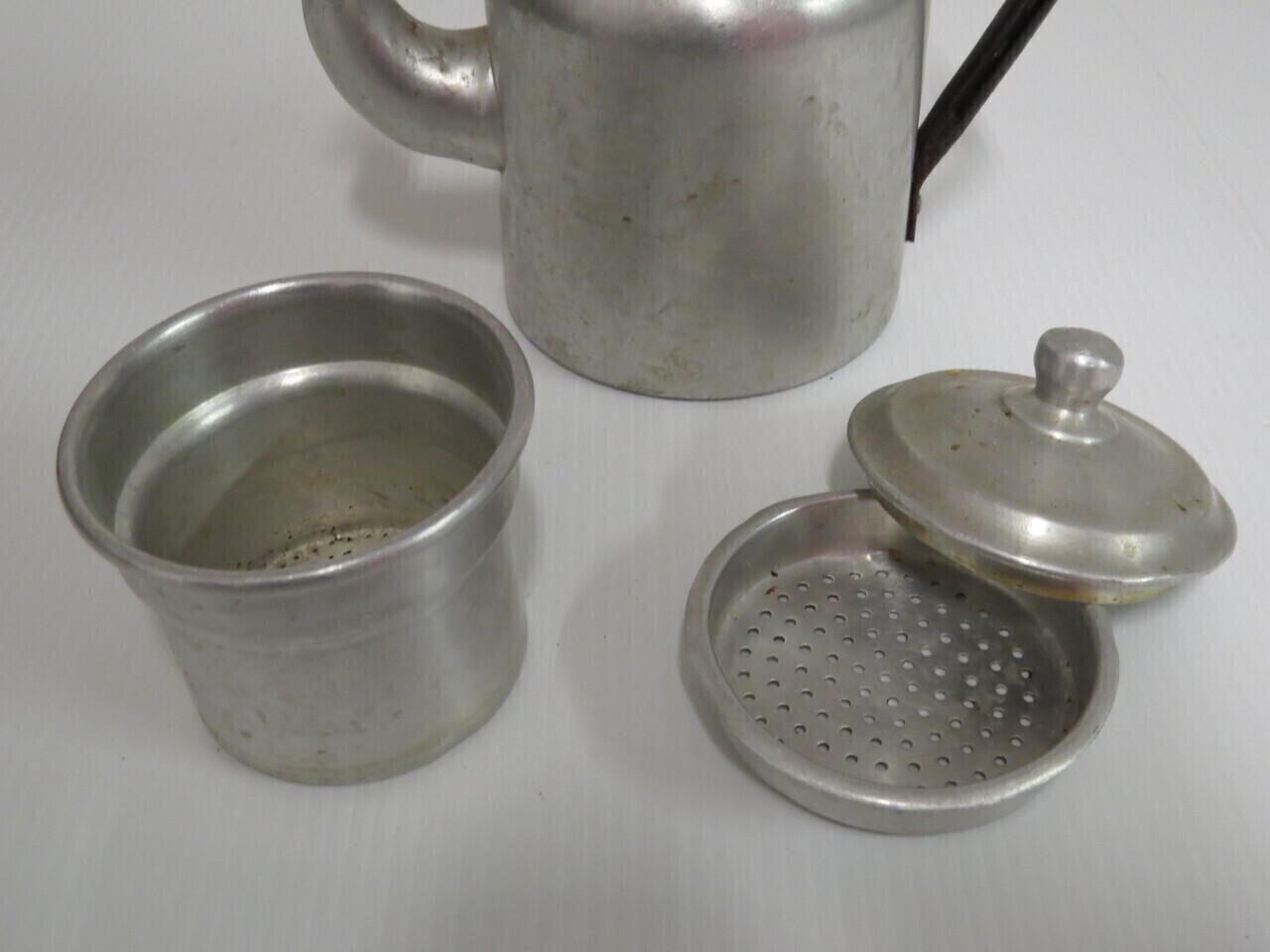 Lote: 7 - Lote: 7 - Tetera - cafetera aluminio