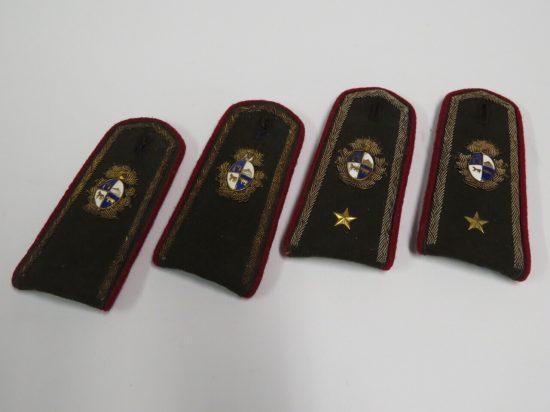 Lote: 71 - Lote: 71 - Charreteras militares