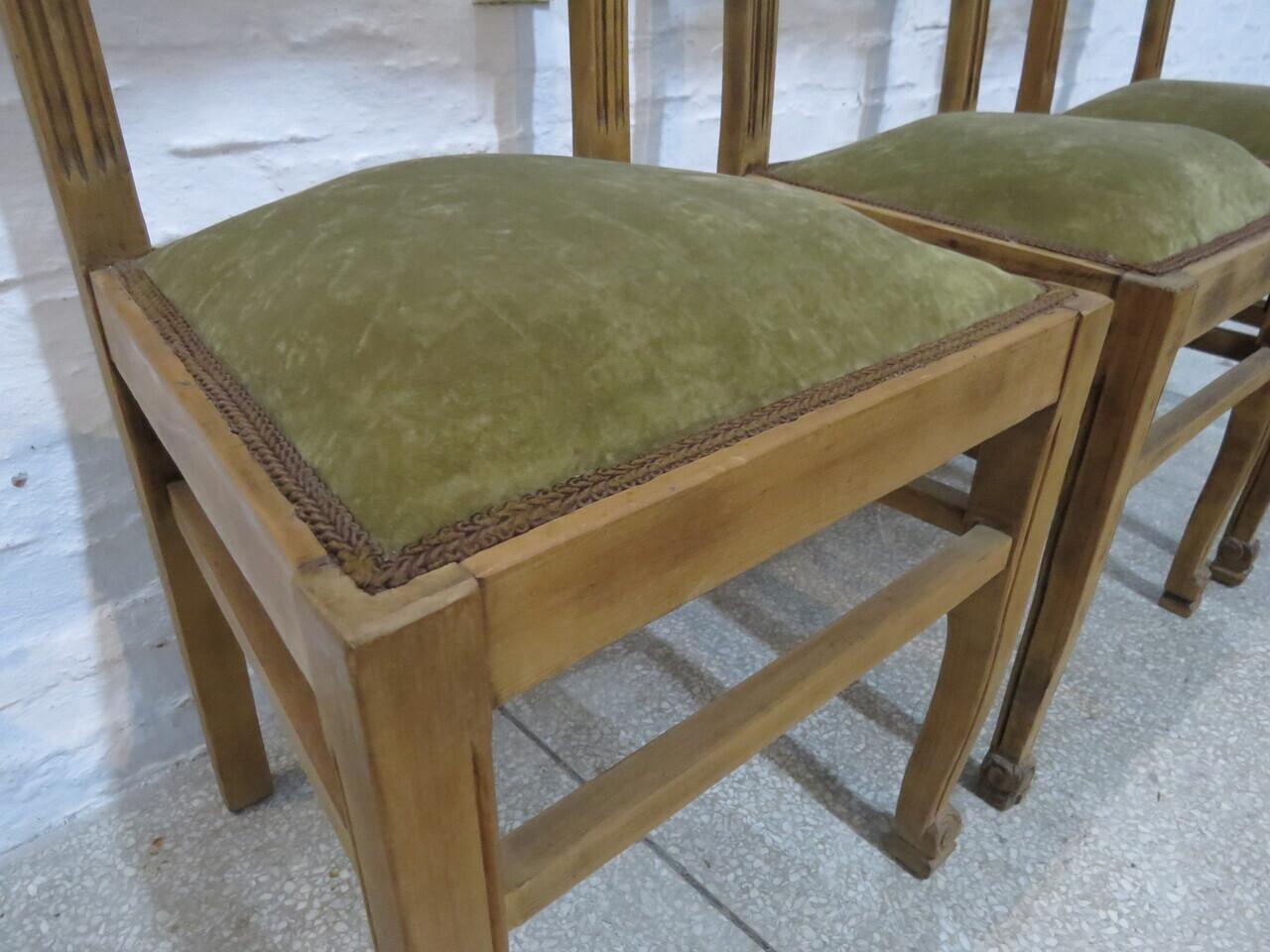 Lote: 170 - Lote: 170 - 3 sillas de pino