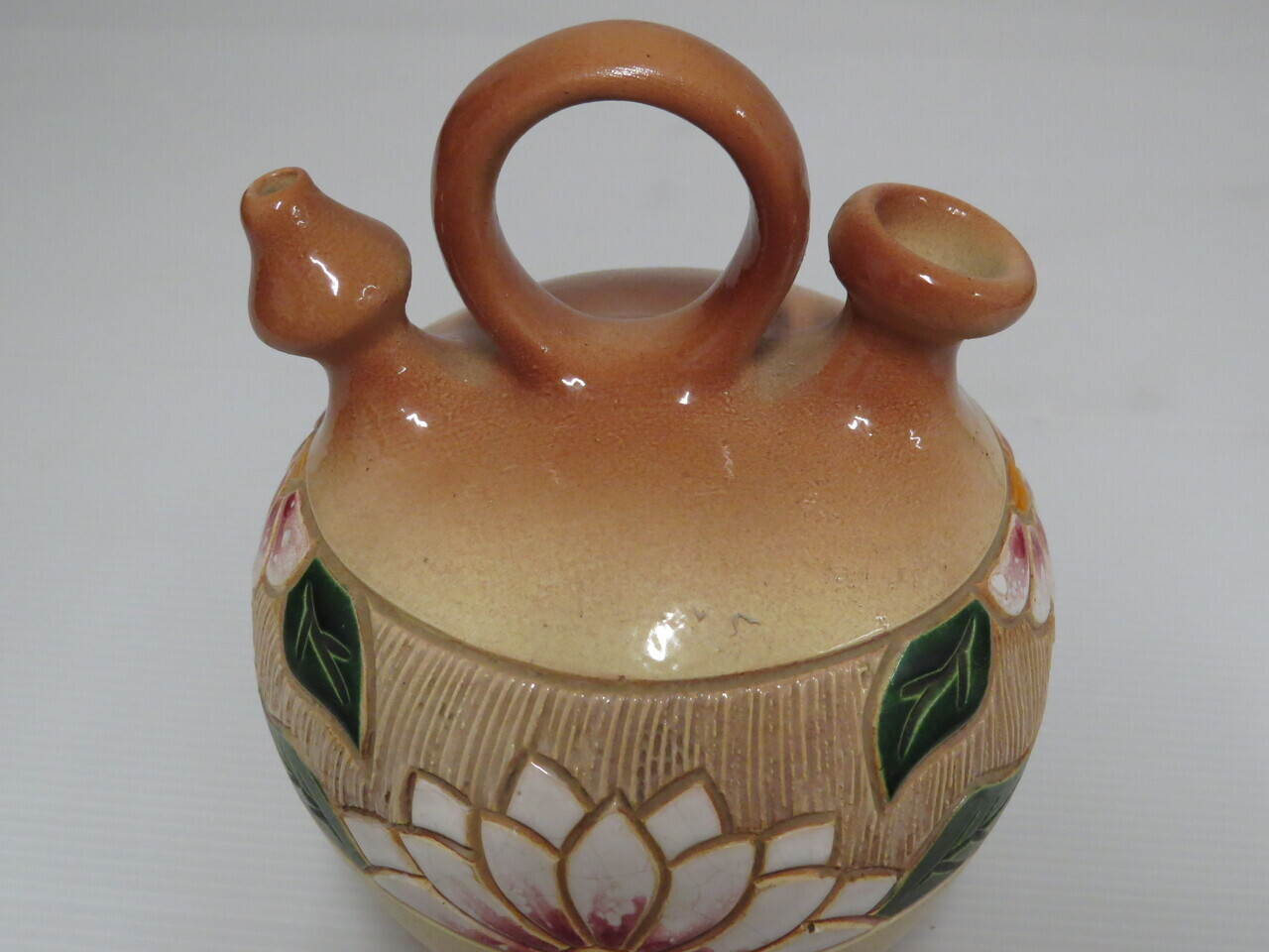 Lote: 1 - Lote: 1 - Jarrón de cerámica