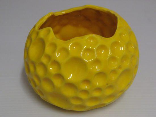 Lote: 5 - Lote: 5 - Florero circular en loza
