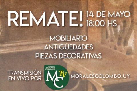 Próximo Remate Viernes 14 de Mayo